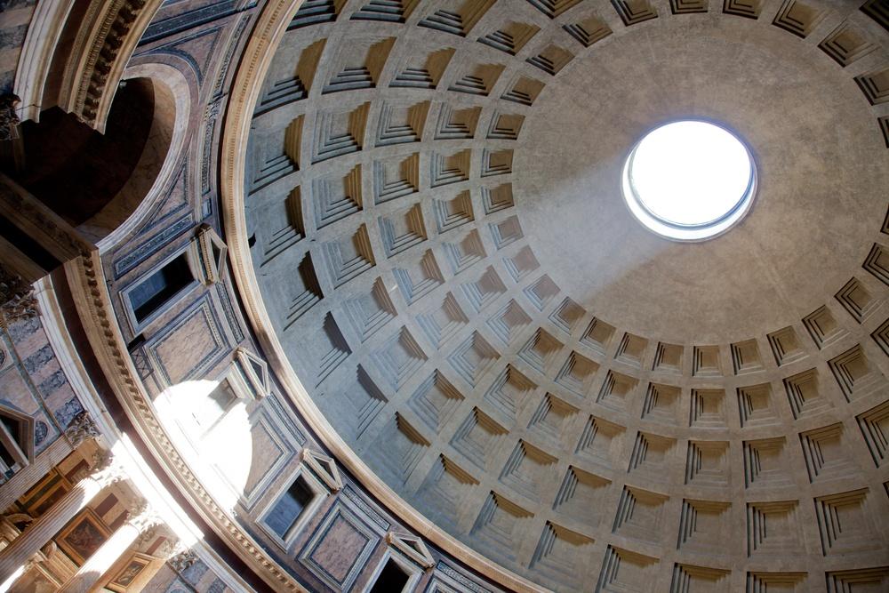 Pantheon Roma cupola