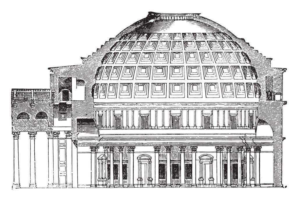 Pantheon Roma curiosità