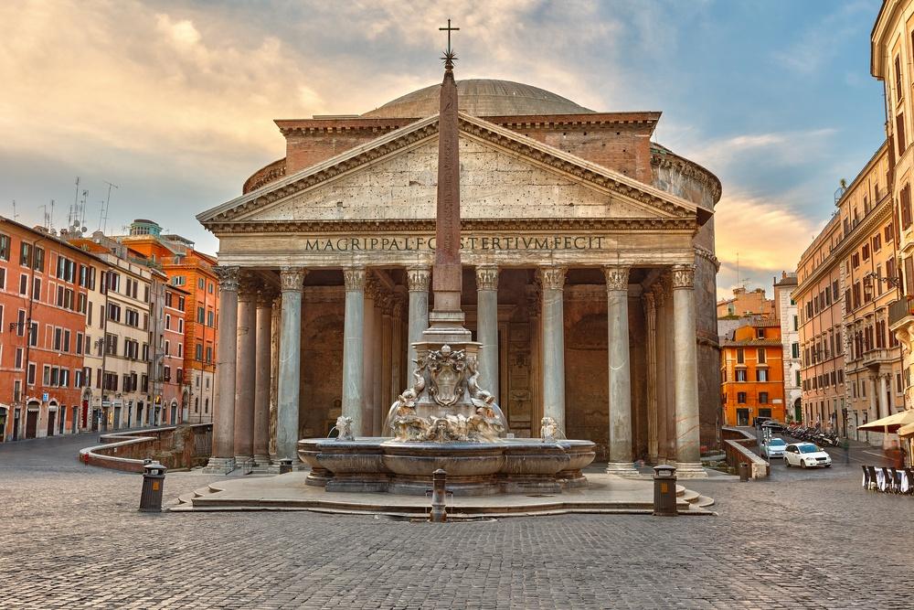 Centro storico Roma Pantheon