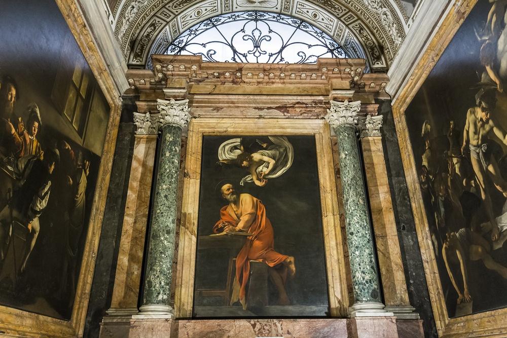 San Luigi dei Francesi San Matteo
